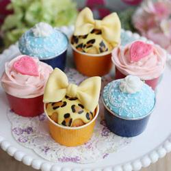 vivianさんのアイシングカップケーキ・レッスン